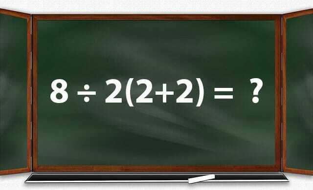 Test: saurez-vous résoudre cette petite opération? les meilleurs se sont trompés