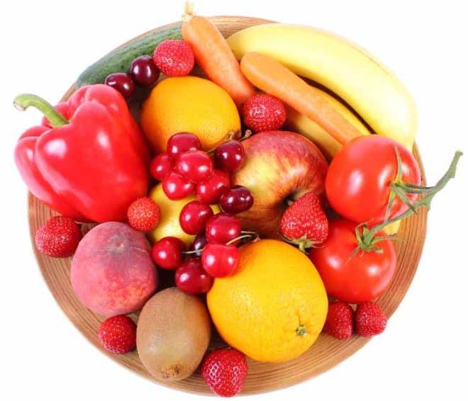 caries Quelques recommandations avec les fruits et légumes