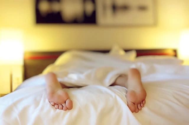 rhume ett manque de sommeil